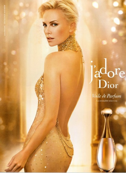 Dior J'Adore Charlize Theron